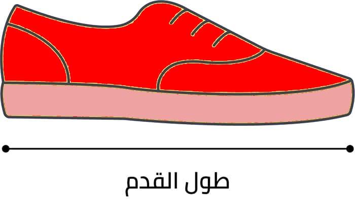 كيفية تعيين قياسات أش أند أم الخاصة بالأحذية